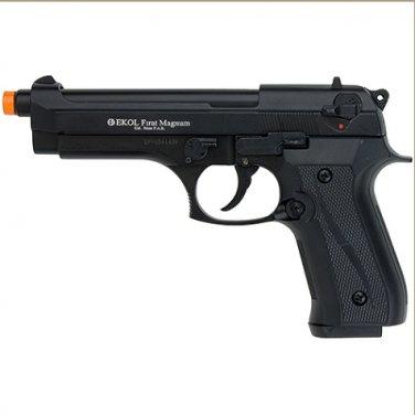Firat Magnum 92 Front Firing Blank Gun Matte Black Finish