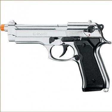 Kimar Model 92 Front Firing Blank Gun Nickel Finish