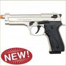 Firat Magnum 92 Front Firing Blank Gun Satin Finish
