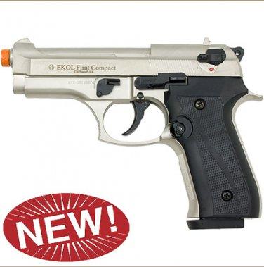 Firat Compact 92 Front Firing Blank Gun Satin Finish