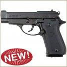 Replica M84 Semi Automatic Blank Firing Gun Nickel Finish