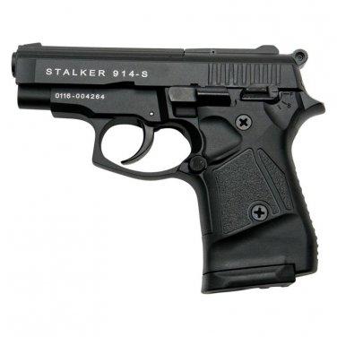 Stalker 914 Black Finish - 9mm Blank Firing Replica Zoraki Gun