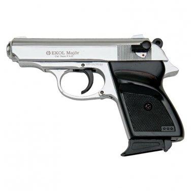 MVP Blank Firing Replica Gun - Chrome Finish