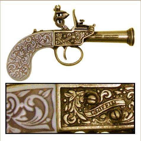 Flintlock, 1798 English Gold