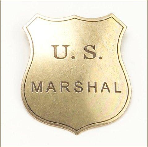 Old West Denix Replica Marshall's Badge