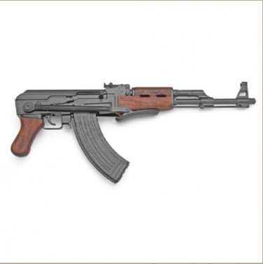 Replica Folding Stock Russian Assault Rifle Non-Firing Gun