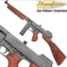 Replica M1928 Military Version Thompson Submachine Gun Non-Firing