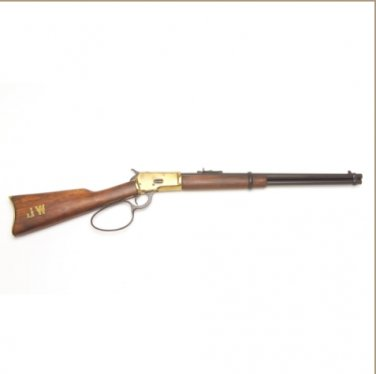 Old West M1892 Replica Antique Brass Finish Loop Lever Rifle Non-Firing Gun