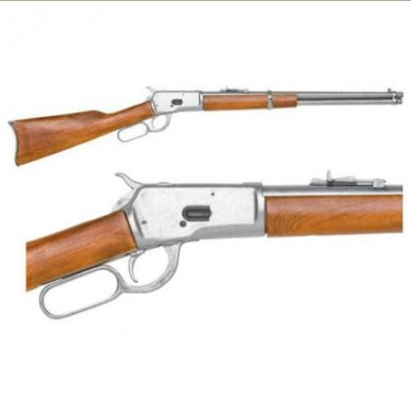 Old West Replica M1892 Antiqued Finish Lever Action Rifle Non-Firing Gun