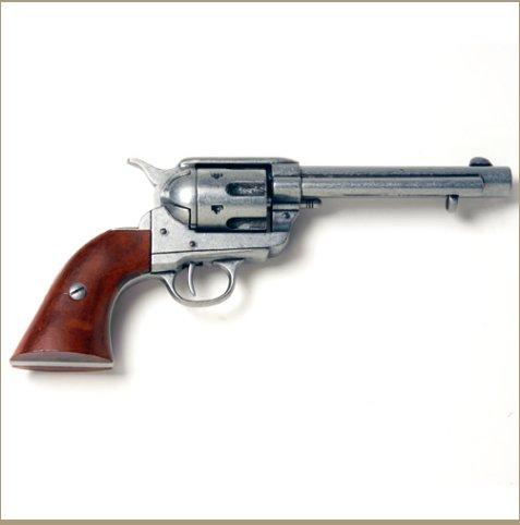 Old West Frontier Replica Antique Grey Replica Revolver Non-Firing Gun