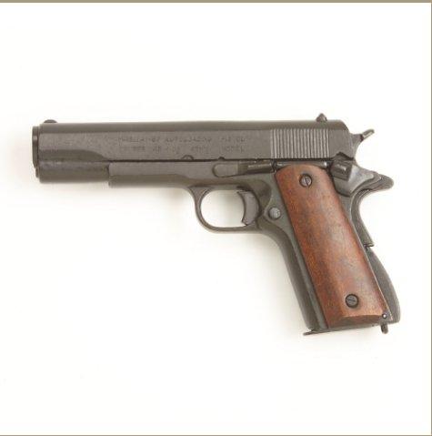 Us Gov. M1911 Wood Grips Black