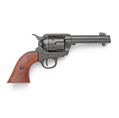 Old West Replica M1873 Black Finish Quick Draw Revolver Non-Firing Gun