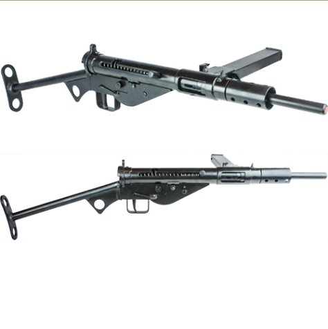 Replica British Sten MK II Non-Firing Gun