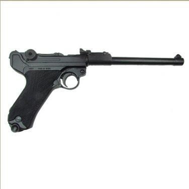 Replica Denix German Luger Lange Pistole 08 Artillery Model Non-Firing Replica