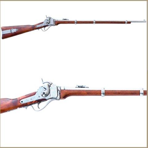 Civil War 1859 Sharps Rifle