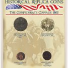 Confederate States of America Replica Coin Set