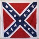 "Confederate 49"" x 49"" Square Cavalry Flag"