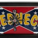 Redneck License Plate Clock