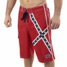 Rebel Flag Medium Board Shorts