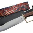 Civil War D-Ring Guard Bowie Knife