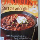 Cooking Light Magazine-Jan/Feb 2007- Start the year right FREE SHIPPING!