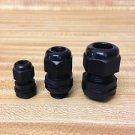"""5 Strain Relief Cord Grip Gland w/nut/gasket  U PICK SIZES 1/2"""", 3/8"""", 1/4"""" NEW"""