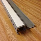 """2 NEW 1 1/4"""" X 1 1/4"""" X 39"""" OPEN SLOT WIRE DUCT/RACEWAY/PANDUIT STYLE WITH TAPE"""
