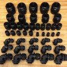 "45 Piece Kit Strain Relief  Cord Grip Gland 1/4"" - 1 1/4"" And 3/8"" - 3/4"" 90 Deg"
