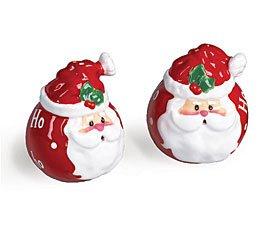 Ho Ho Ho Santa - Salt & Pepper Shakers