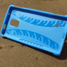 Samsung Galaxy Note 4 blue case + screen protector