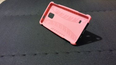 Samsung Galaxy Note 4 pink case + screen protector