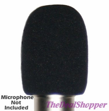 Large Condenser Microphone WINDSCREEN, Fits CAD M179 M9 M177 & U37 USB Mic SPECIAL DEAL!