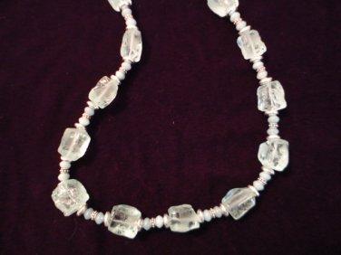 Aqua Marine Necklace
