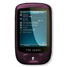 WINDOWS MOBILE, DESIGNER SMARTPHONE HTC LILAC ted baker LTD edition