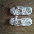 new FASHIONABLY DESIGNED HAND-KNITTED WOOLEN LADIES SHOE-semi hard sole £25