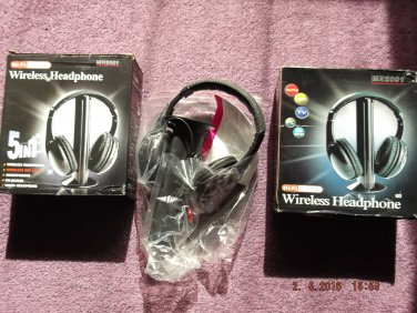 WIRELESS HEADPHONES of EXCESS PURCHASE AND UNWANTED GIFT SALE LOT 17