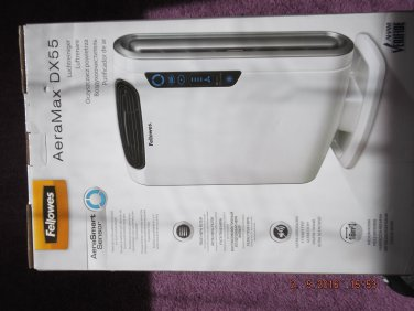 FELLOWES AERAMAX DX55 AIR PURIFIER of EXCESS PURCHASE AND UNWANTED GIFT SALE LOT 18