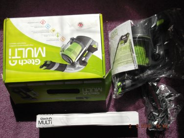 GTECH MULTI RECHARGABLE HOME/CAR VACUUM CLEANER of EXCESS PURCHASE AND UNWANTED GIFT SALE LOT 20