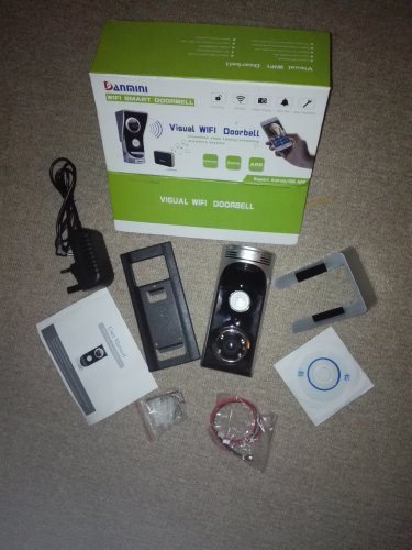 WIFI DOOR BELL CAMERA of EXCESS PURCHASE AND UNWANTED GIFT SALE LOT 50