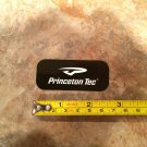 Princeton Tec Sticker - Black Logo - Decal Hiking Camping Hunting Headlamp Jacket Pants Mens