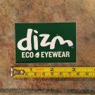 DIZM Eyewear Sticker Decal - Green - Surf Sunglasses Goggles Snowboard Skate Eco 4
