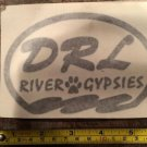 DRL River Gypsies Sticker Decal Kayak Canoe SUP Surf Whitewater Suit Rafting