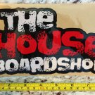 "8.5"" The House Board Shop Sticker Decal Red Snowboard Ski Snow"