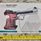 Feinwerkbau AW93 Sticker Decal Tactical AR M4 Firearms Hunting Militia Target