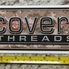 Covert Threads Sticker Tactical Gear Socks Decal Stocks Guns Rifle Holsters