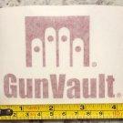 GunVault Sticker Gun Vault Tactical DEVGRU Gear Decal Stocks Guns Rifle Red