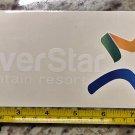 "9"" Silver Star Sticker Ski Resort Decal Snowboard Mountain BC Canada"