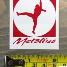Metolius Ropes Sticker Decal Rock Climbing Holds Cams Chalk Carabiner Red