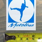 Metolius Ropes Sticker Decal Rock Climbing Holds Cams Chalk Carabiner Blue