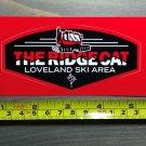 Loveland Ski Resort Sticker Decal Snowboard Colorado The Ridgecat Area